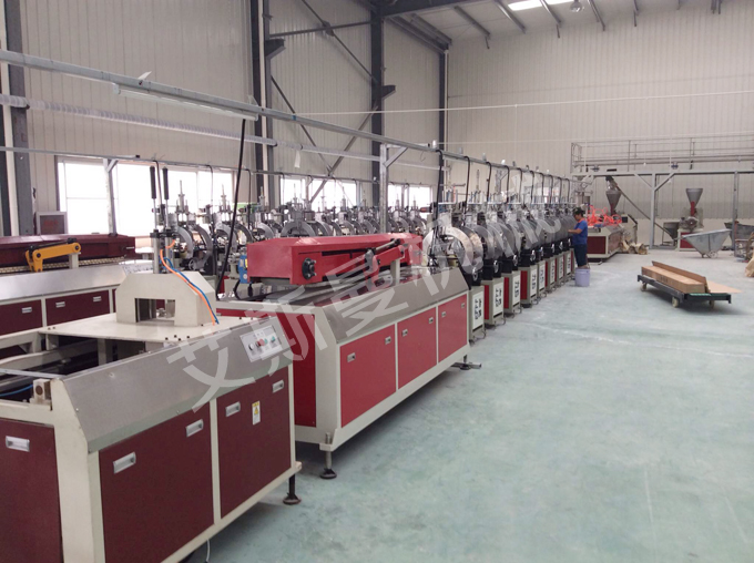 PVC Artificial marble profile making machine
