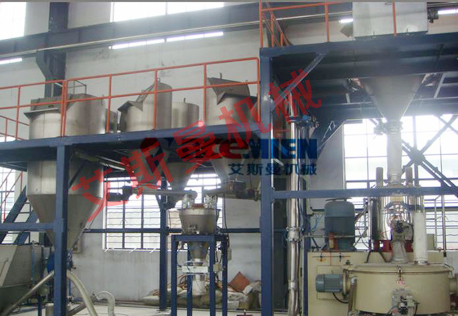 PVC Full automatic mixing feeder