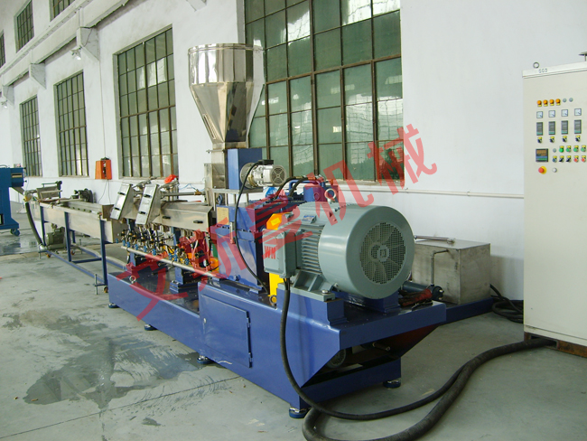 TSK parallel twin-screw granulation production line
